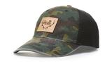 Richardson Garment Washed Printed Trucker Hat Main Image
