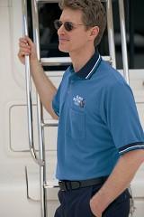 Raised Jersey Polo Shirt With Pocket Main Image