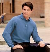 Rapid Dry Long Sleeve Polo Shirt Main Image