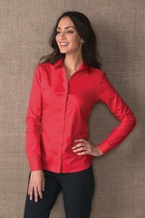Women's Red House NonIron Twill Shirt Main Image