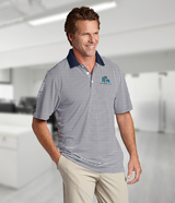 Cutter & Buck Men's DryTec Big & Tall Trevor Stripe Polo Shirt Main Image