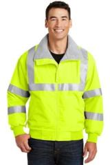 Safety Challenger Jacket With Reflective Taping Main Image