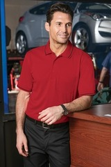Select Snag-proof Tipped Pocket Polo Main Image