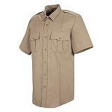 Sentry Plus Short Sleeve 100% Polyester Shirt w/ Zipper Main Image