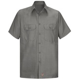 Short Sleeve Men's Solid Ripstop Shirt Main Image