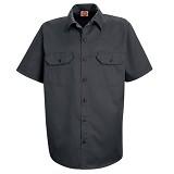 Short Sleeve Utility Work Shirt With Pockets Main Image