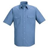 Short Sleeve Western Style Uniform Shirt Main Image