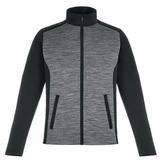 Shuffle Men's Performance Melange Interlock Jacket Main Image