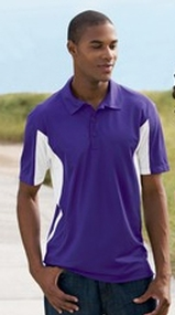 Side Blocked Performance Micropique Polo Shirt Main Image