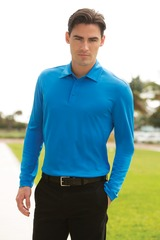 Silk Touch Performance Long Sleeve Polo Main Image