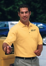 Silk Touch Polo Shirt A Best Selling Uniform Polo Main Image