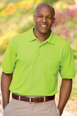 Silk Touch Polo Shirt With Pocket Main Image