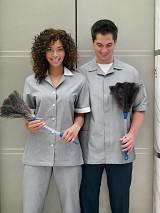 Single Breasted Tunic Work Uniform Main Image
