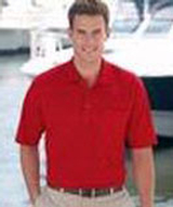 Solid Polo Shirt With Pocket Main Image