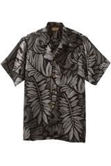 South Seas Leaf Print Camp Shirt Main Image