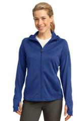 Women's Sport-tek Tech Fleece Full-zip Hooded Jacket Main Image