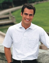 Spotshield Jersey Knit Polo With Pocket Main Image