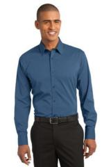 Stretch Poplin Shirt Main Image