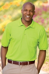Tall Silk Touch Polo Shirt With Pocket Main Image