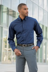 Tattersall Easy Care Shirt Main Image