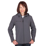 Women's Reebok Hooded Softshell Main Image