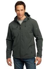 Textured Hooded Soft Shell Jacket Main Image