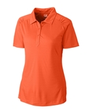 Women's Cutter & Buck DryTec Northgate Polo Shirt College Orange Thumbnail