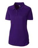 Women's Cutter & Buck DryTec Northgate Polo Shirt College Purple Thumbnail