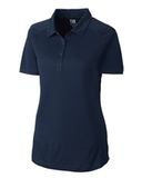 Women's Cutter & Buck DryTec Northgate Polo Shirt Navy Blue Thumbnail