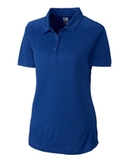 Women's Cutter & Buck DryTec Northgate Polo Shirt Tour Blue Thumbnail