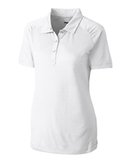 Women's Cutter & Buck DryTec Northgate Polo Shirt White Thumbnail