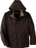 Men's Insulated Soft Shell Jacket With Detachable Hood Thumbnail
