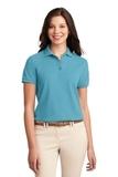 Women's Silk Touch Polo Shirt Maui Blue Thumbnail