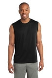Sleeveless Competitor Tee Black Thumbnail