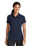 Women's Nike Golf Shirt Nike Sphere Dry Diamond Midnight Navy Thumbnail