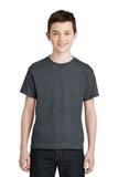 Youth Ultra Blend 50/50 Cotton / Poly T-shirt Dark Heather Thumbnail