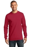 Tall Long Sleeve Essential T Red Thumbnail