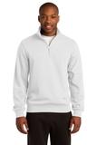 1/4-zip Sweatshirt White Thumbnail