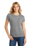 Women's Made Perfect Tri Crew Tee Grey Frost Thumbnail