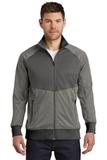 The North Face Tech Full-Zip Fleece Jacket TNF Medium Grey Heather with Asphalt Thumbnail