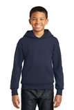 Comfortblend Youth Pullover Hooded Sweatshirt Navy Thumbnail