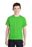 Youth Ultra Blend 50/50 Cotton / Poly T-shirt Electric Green Thumbnail