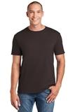 Softstyle Ring Spun Cotton T-shirt Dark Chocolate Thumbnail