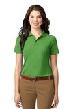 Women's Stain-resistant Polo Shirt Vine Green Thumbnail