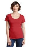 Women's Made Perfect Weight Scoop Tee Classic Red Thumbnail