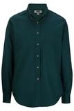 Women's Poplin Shirt LS Teal Thumbnail