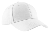Brushed Twill Cap White Thumbnail