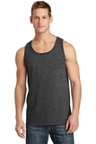 5.4 oz. 100% Cotton Tank Top Dark Heather Grey Thumbnail