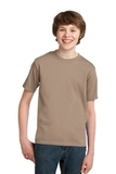 Youth Essential T-shirt Sand Thumbnail