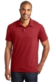 Meridian Cotton Blend Polo Flame Red Thumbnail